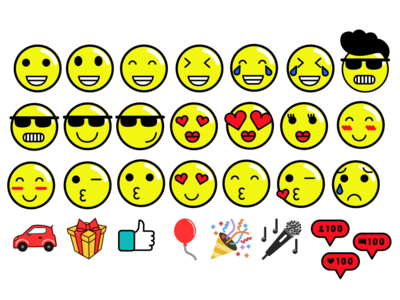 Emojis Radio Disney y Amor