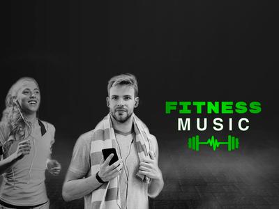 Fitness Music banner web