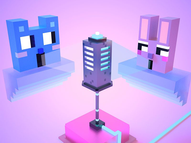 Sing toghter 3d voxel