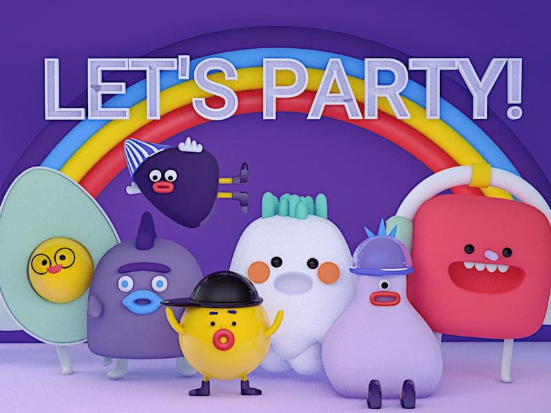 party c4d