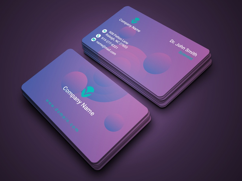 Business Card Vol. 2 2020 graphic design banner photoshop printing printing design colorful design corporate business card business card design business card businesscard