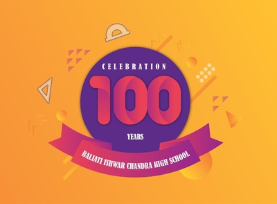 100 Years Celebration Monogram