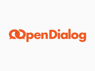 Logo Open Dialog open dialog startup logotype project logo