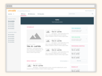 New Univadis design system - Homepage