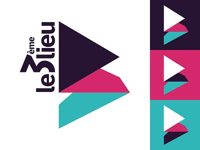Le 3ème Lieu graphism graphisme graphic design webradio logotype logo