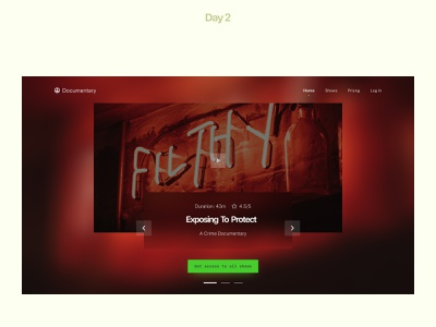 30 Day Web Design Challenge Day #2 30 days of web design clean case study responsive web design web header freelancer figma website design landing page modern design web design challenge header accessible accessiblity glassomorphism web website ux ui