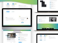 Majo Corporate App Landing Page