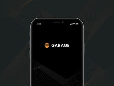 Garage App – Interactions porsche rivian volvo car application futuristic minimal future ui dark ui dark app remote