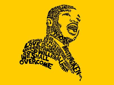 Michael Luther King Jr. graphic design words art design creative design creative art creative agency artwork art