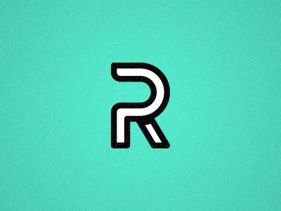 RP Monogram monogram logo mark brand identity