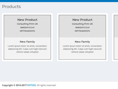 Showing Products ecommerce products products grid css html