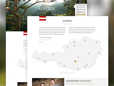 JRE Webdesign Relaunch #02 location google maps map web cooking chef restaurant slider ui ux interface webdesign