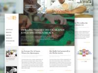 JRE Magazine and Blog Interface Design