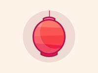 Rose Lantern Icon