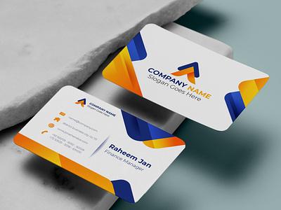 Modern business card card business card logodesign logo illustration graphic design design branding