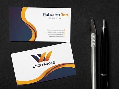 Unique Business Card Design business card design card design business card illustration graphic design design branding