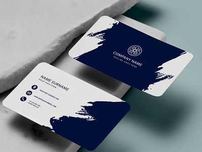 Unique Business Card Design business card ux vector ui logotypes logo logodesign illustration graphic design design branding