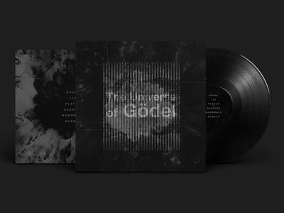 The Universe of Gödel ui dark identity branding music electronic universe of godel art direction