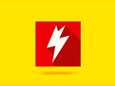 Cerny elektroinstalace  brand logo design tag electro small bussines