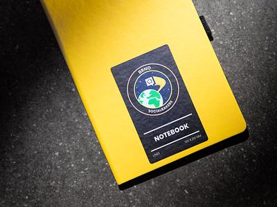 Socialbakers Brno Welcome Kit design merch branding socialbakers kit