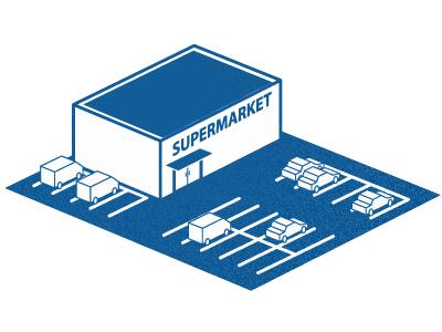 image for magazine article blue icon supermarket line
