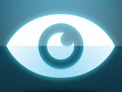EYE icon icon eye blue android app