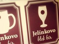 Jelínkovo jelou bír and blek bír
