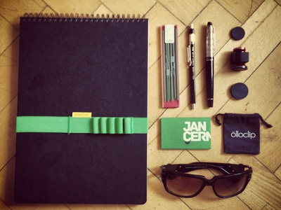 Dribble Jancermak 2 jancermak green papelote olloclip prego koh-i-noor waterman wood floor instagram