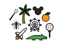 Orlando Icon Set