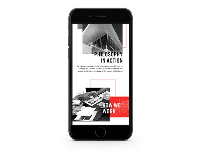 Mobile MSA Rebrand Website grid mobile layout typography layout responsive web web design