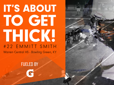 Fueled By Gatorade visual design highlight sports thumbnail video
