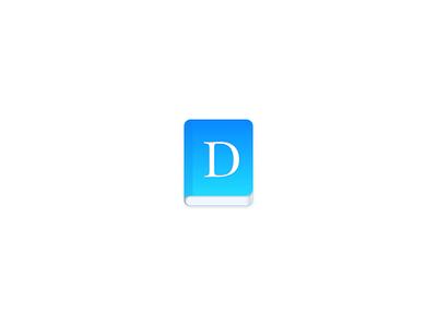 Dictionary Icon app dictionary sketch icon