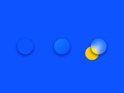 Knob (evolution) knob translucent blue control ui sketchapp