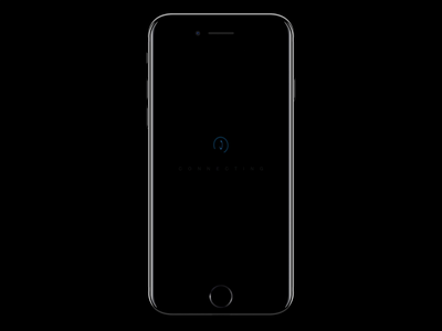 Connecting Screen connect iphone mobile prototype animation framer