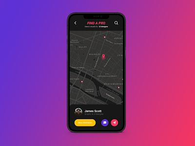 Daily UI 020 - Location Tracker 020 dailyui020 location travker ux ui interface design design dailyui app