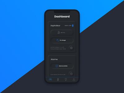 Daily UI 021 - Home Monitoring Dashboard dailyui021 home monitoring dashboard ui ux interface design design dailyui app