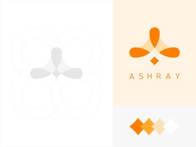 Ashray Logo Design