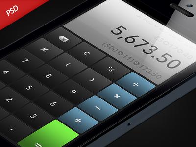 Calculator UI Concept