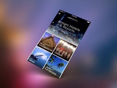 LastMinute iOS 7 UI