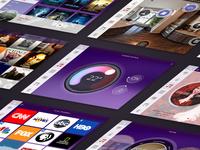 Home Automation iPad Screens