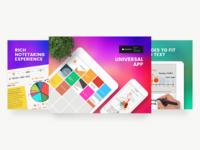 Whink App Store Screenshots WIP