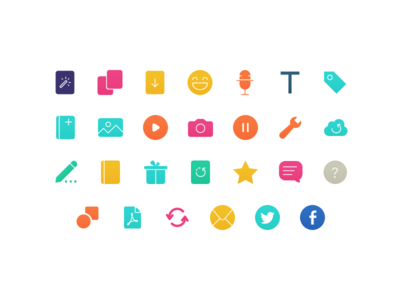 Icons for an upcoming iOS app 💛