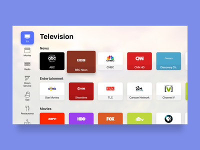 Smart TV - TV Channels television channels tvos tv smart home smart tv