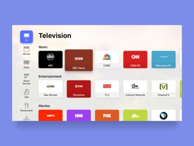 Smart TV - TV Channels television channels tvos tv smart home smart tv