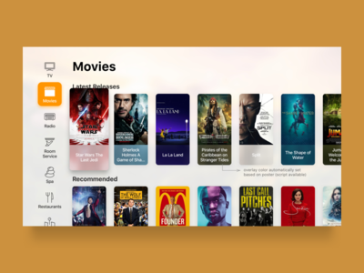 Smart TV - Movies hotel videos posters movies smart tv smart home tv tvos channels television