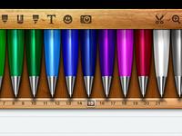 Noteshelf Pen Drawer