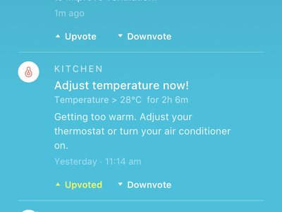 Indoor Air Quality Tracker ui design color background temperature airquality android ios uhoo ux
