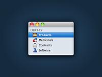 16px Sidebar Icons