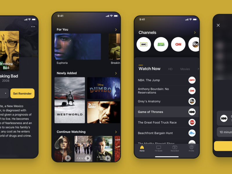 Hotel Live TV Remote App ui ux android ios live tv tv shows remote channels tv livetv hotel