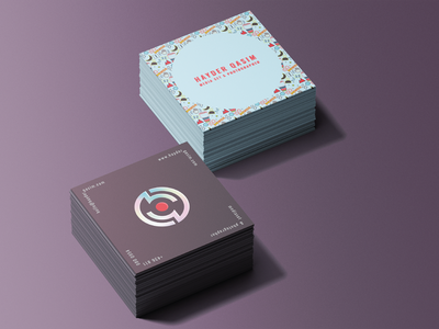 Photographer Brand Identity color typography concept vector logo illustration icon flat design branding